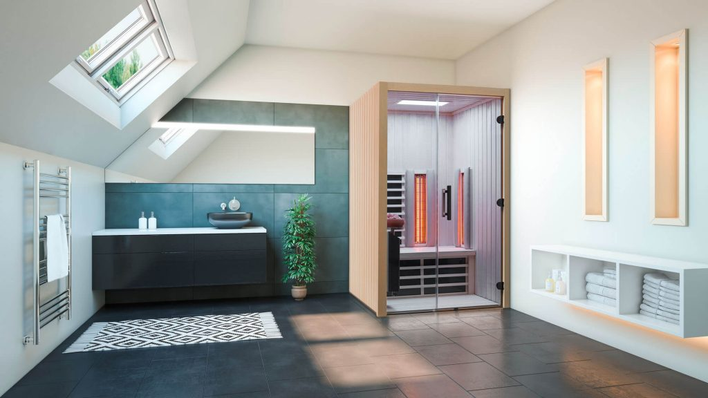 Infrarotkabine TrioSol Design 125 Espe