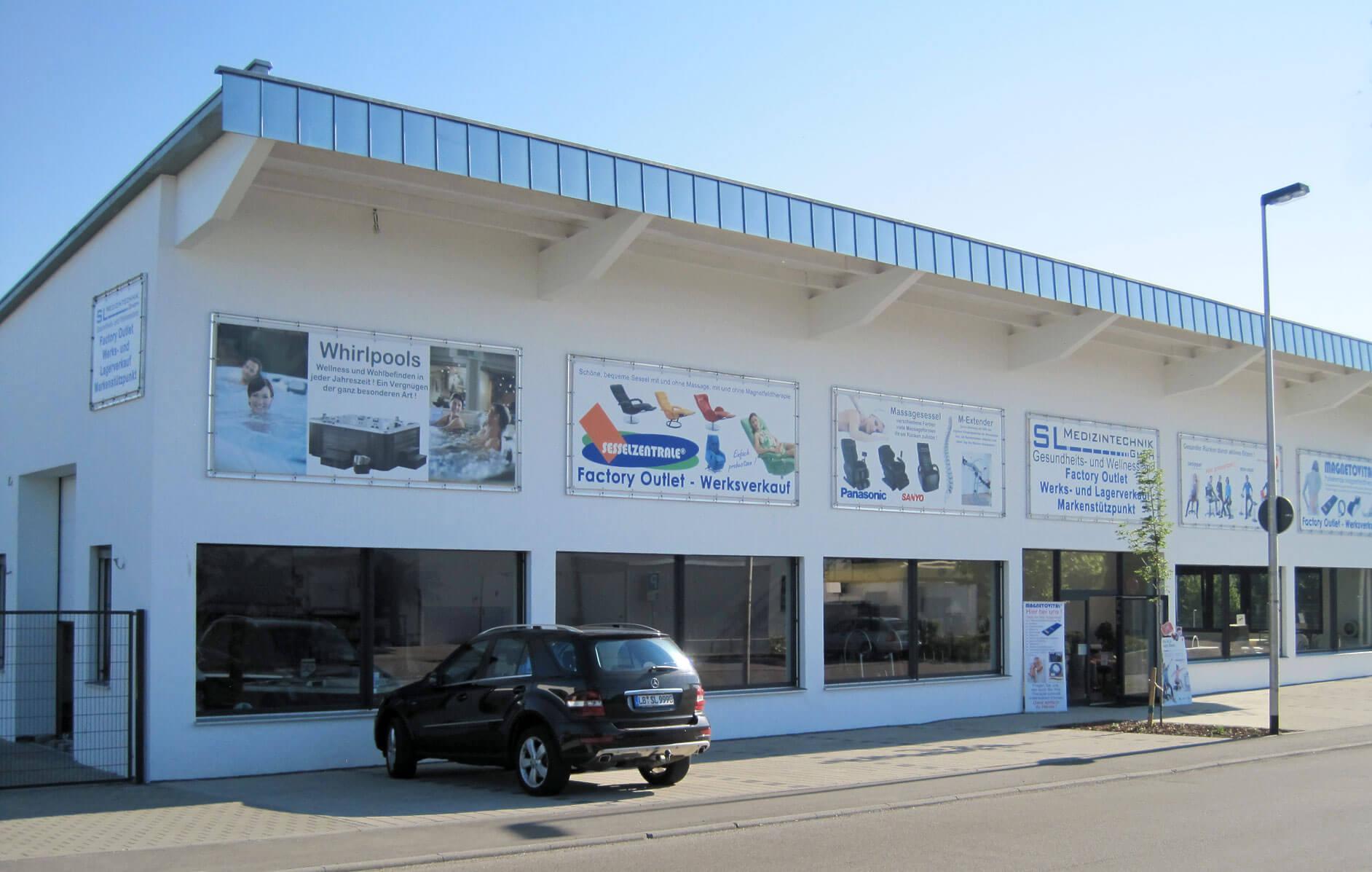 SL-Medizintechnik Gebäude in Murr